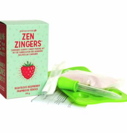 Paracanna Zen Zingers Cannabis Gummy Candy Making Kit - Cherry Bomb