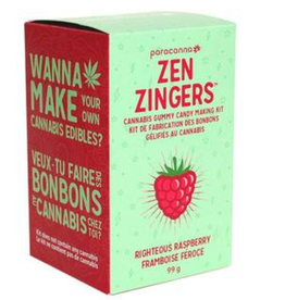 Paracanna Cannabis Gummy Candy Making Kit - Righteous Raspberry