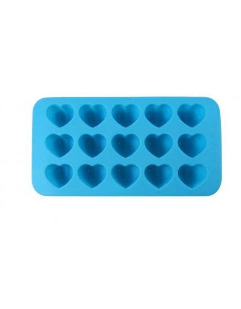 Dope Molds Dope Molds 15 Cavity Heart Blue