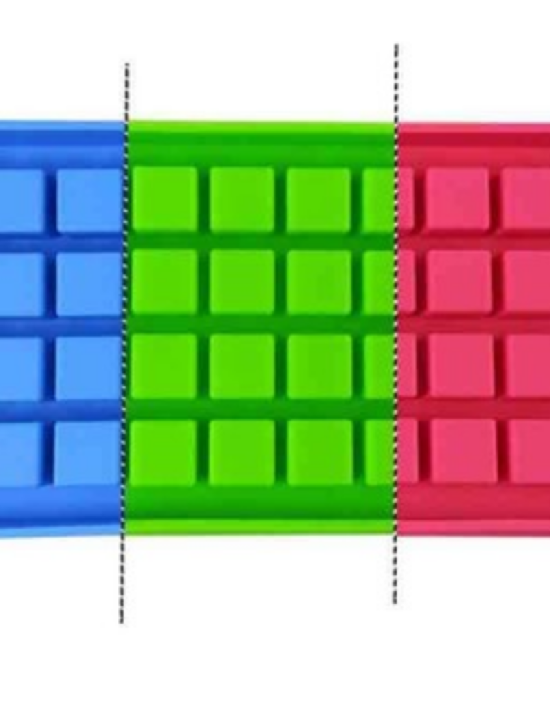 Dope Molds Gummy Ice Cube Mold Blue