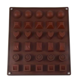 Dope Molds Gummy Classic Chocolate Shapes Mold Brown