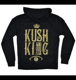 Kush King Zip Hoodie  XLarge