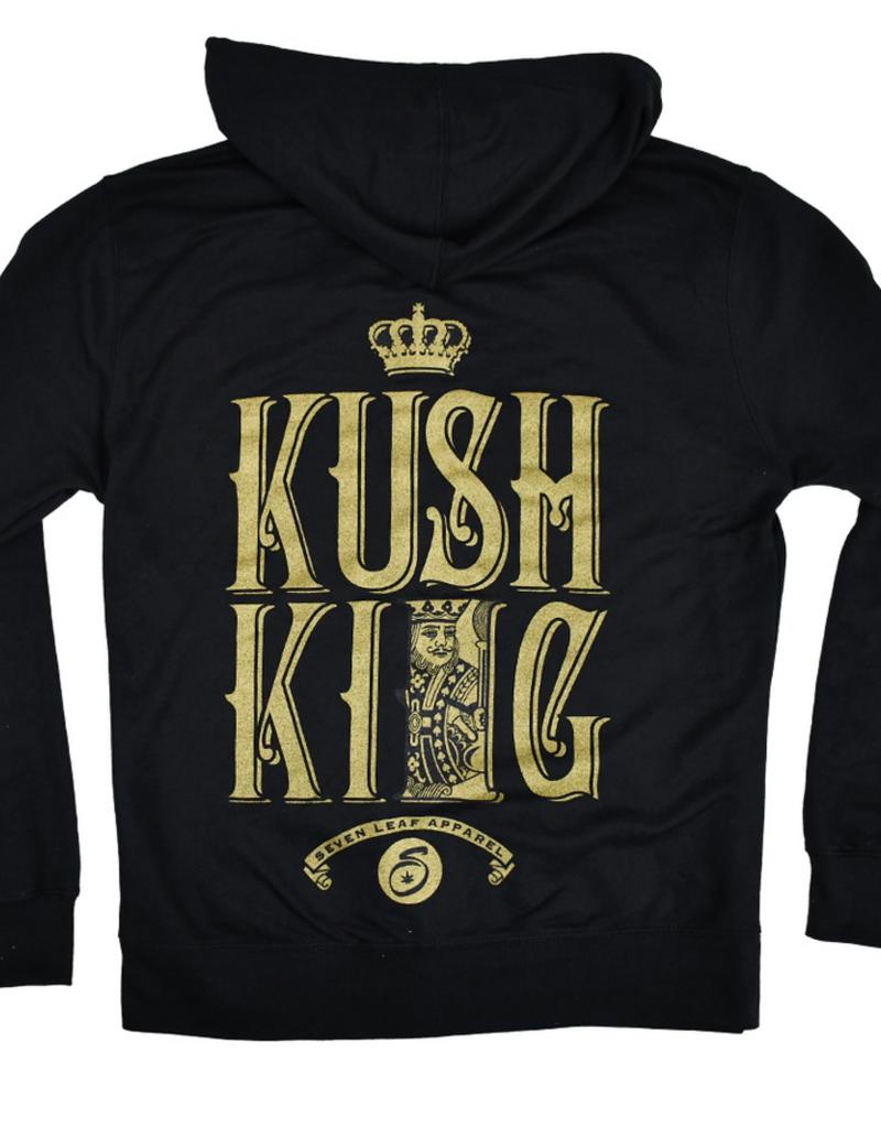 Kush King Zip Hoodie  2XLarge