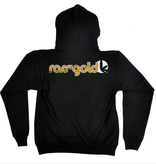 Ross' Gold Embroidered Zip Hoodie XLarge
