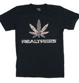 Real Trees T Shirt Black