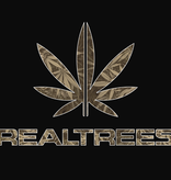 Real Trees T Shirt Black XLarge