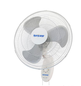 Hurricane Hurricane Supreme Oscillating Wall Mount Fan 18 in