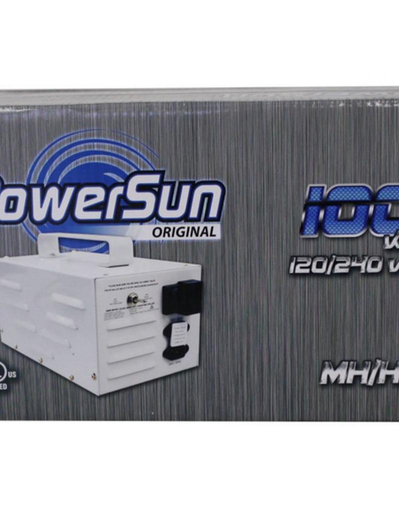 Power Sun POWERSUN ORIGINAL 1000W MH/HPS 120/240V - NO SOCKET