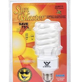 Sunblaster SUNBLASTER FLUOCOMPACT BULB 26W 6400K