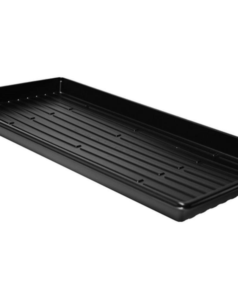Flat Tray No Hole Black