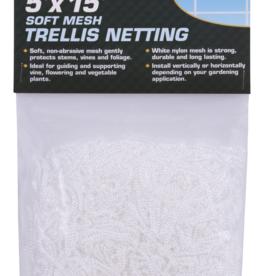 Grower's Edge Grower's Edge Soft Mesh Trellis Netting 5 ft x 15 ft w/ 6 in Squares