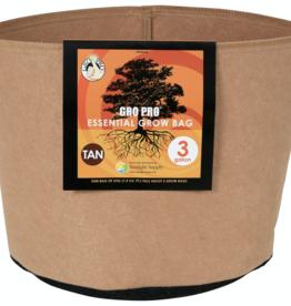 Gro Pro Gro Pro Essential Round Fabric Pot - Tan 3 Gallon