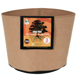Gro Pro Gro Pro Essential Round Fabric Pot - Tan 3 Gallon