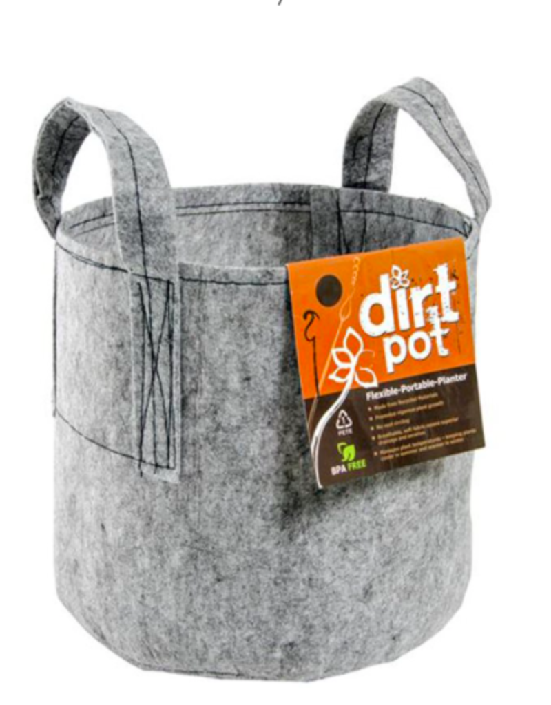 DIRT POT 25 GAL With  Handle
