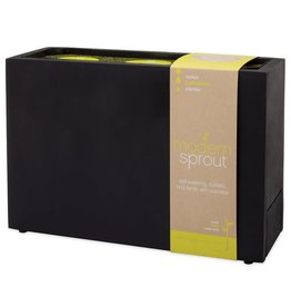 Modern Sprout Chalkboard Plug-in Windowsill Planter