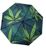 Cannabis Leaf Umbrella