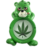 "6"" x 3.5"" Stoned Bear Ashtray"