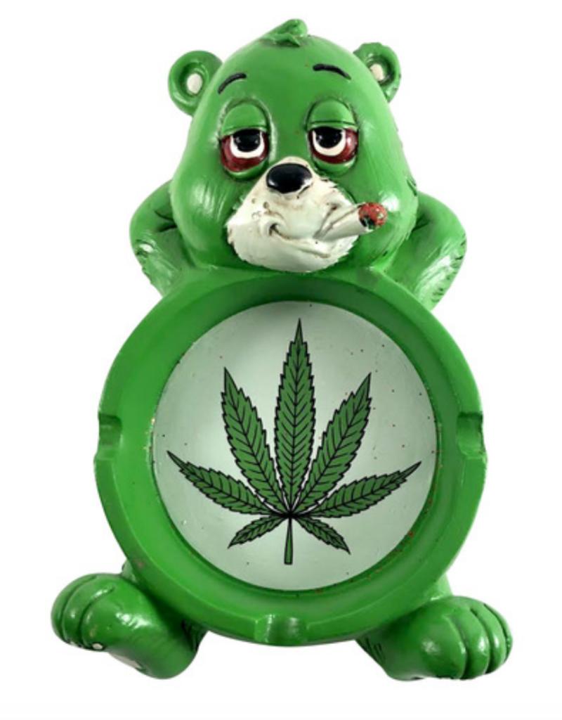 """6"""" x 3.5"""" Stoned Bear Ashtray"""