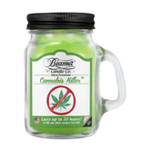 Beamer Candle Co. 4oz Glass Mason Jar - Cannabis Killer