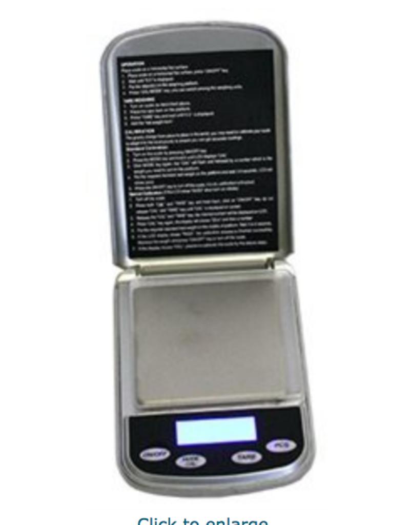 POCKET SCALE DIGITAL MAX:500 G / GRAD:0.01 G