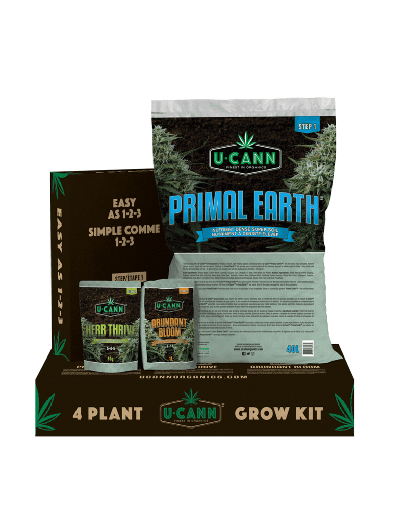 U Cann 4 Plant Grow Kit 15Kg