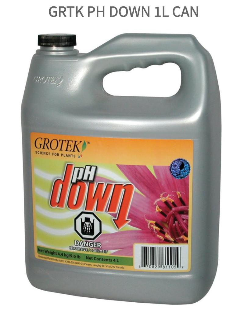 Grotek Grtk pH Down 1L CAN