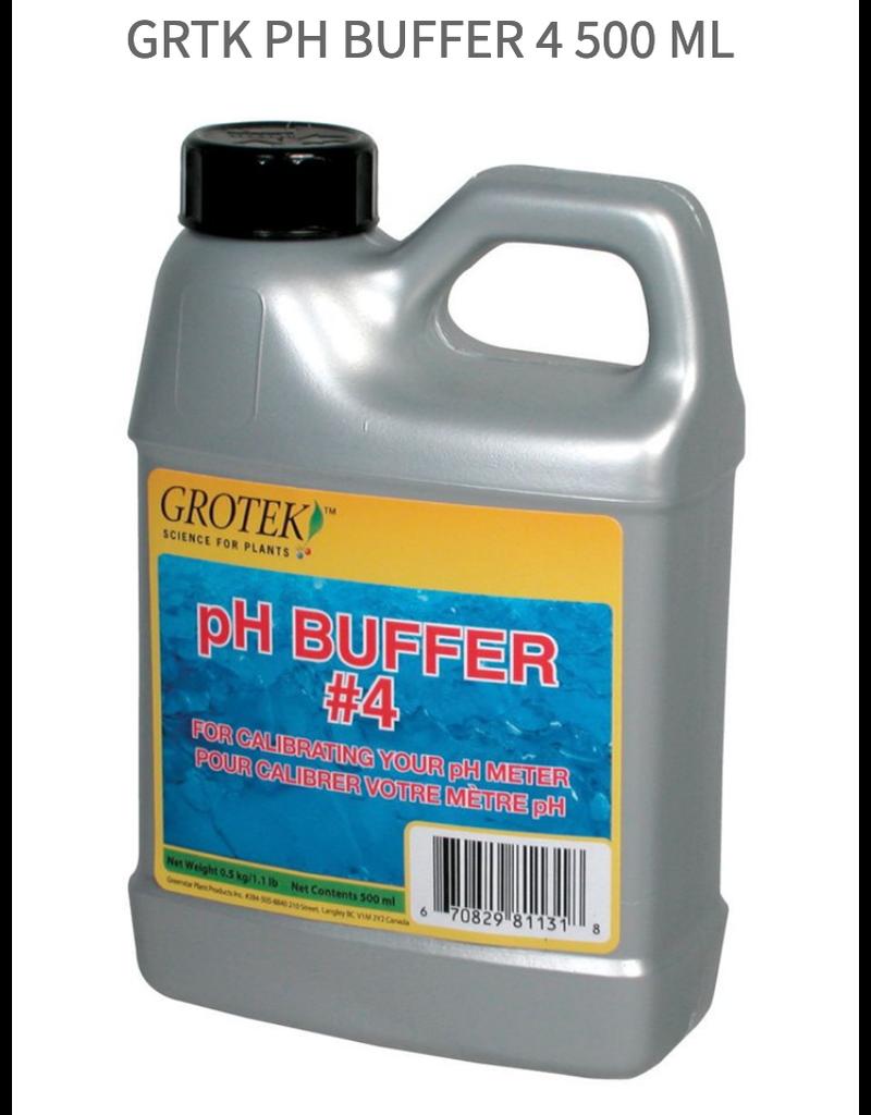 Grotek Grtk pH Buffer 4 500 ml