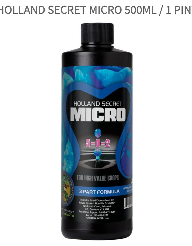 Future Harvest Holland Secret Micro 500Ml / 1 Pint