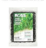Ross Ross Trellis Netting-Black 6'x12'