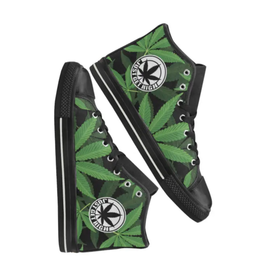 Rubber Toed Hightop Sneakers : Just Get High - Mens 9