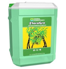 General Hydroponics GH Flora Gro 6 Gallon