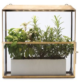 Modern Sprout Growhouse - Antique Metal
