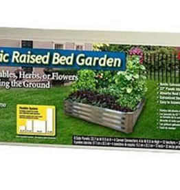 Rustic Raised Bed Garden 4' x 4'