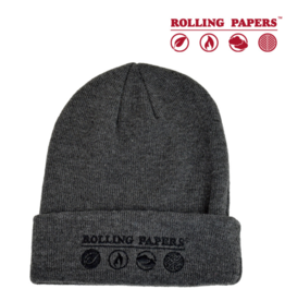 Raw Rolling Papers Grey Beanie / Toque