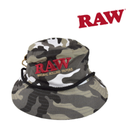 Raw Raw Smokerman's' Hat – Camo King Size