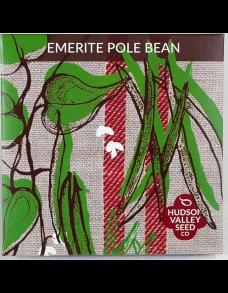Hudson Valley Seed Company Emerite Pole Bean