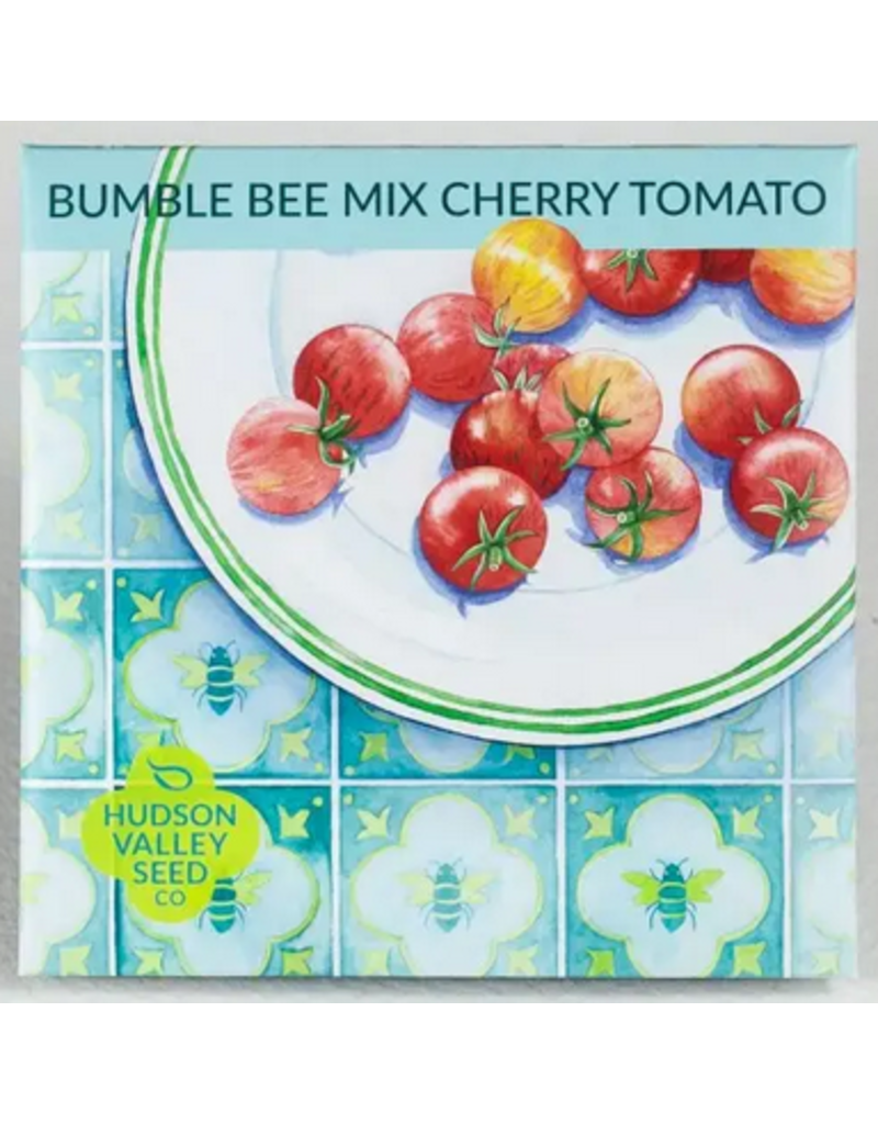 Hudson Valley Seed Company Bumble Bee Mix Cherry Tomato