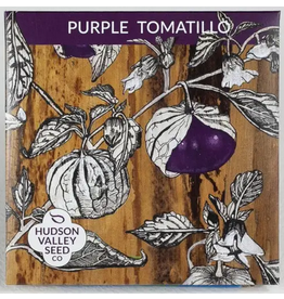 Hudson Valley Seed Company Purple Tomatillo
