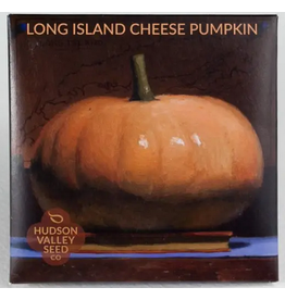 Hudson Valley Seed Company Long Island Cheese Pumpkin