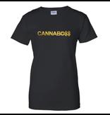 Boyfriend Shirt : Cannabo$$ Black Large