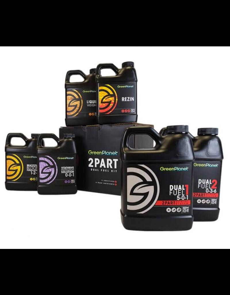 Green Planet Nutrients 2 Part - Dual Fuel Kit