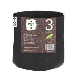 Pot Pots Pot Pots Fabric Pots - 3 Gallon - No Handles