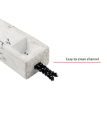 BRNT Faro - Concrete Handpipe Marble