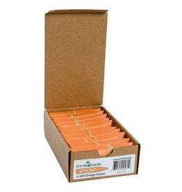 Hydrofarm Plant Stake Labels Orange - Single