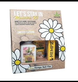 Hempz Hempz Let's Stay In Gift Set - Manicure Kit