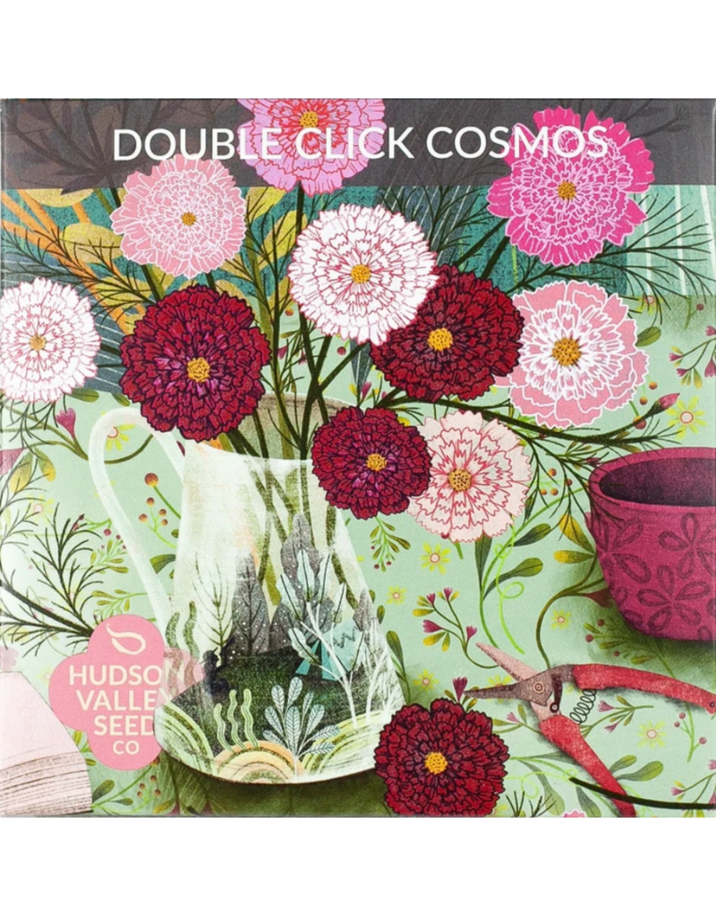 Hudson Valley Seed Company Double Click Cosmos Seeds