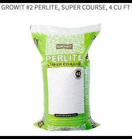 Grow!t Grow!t #2 Perlite, Super Course, 4 cu ft