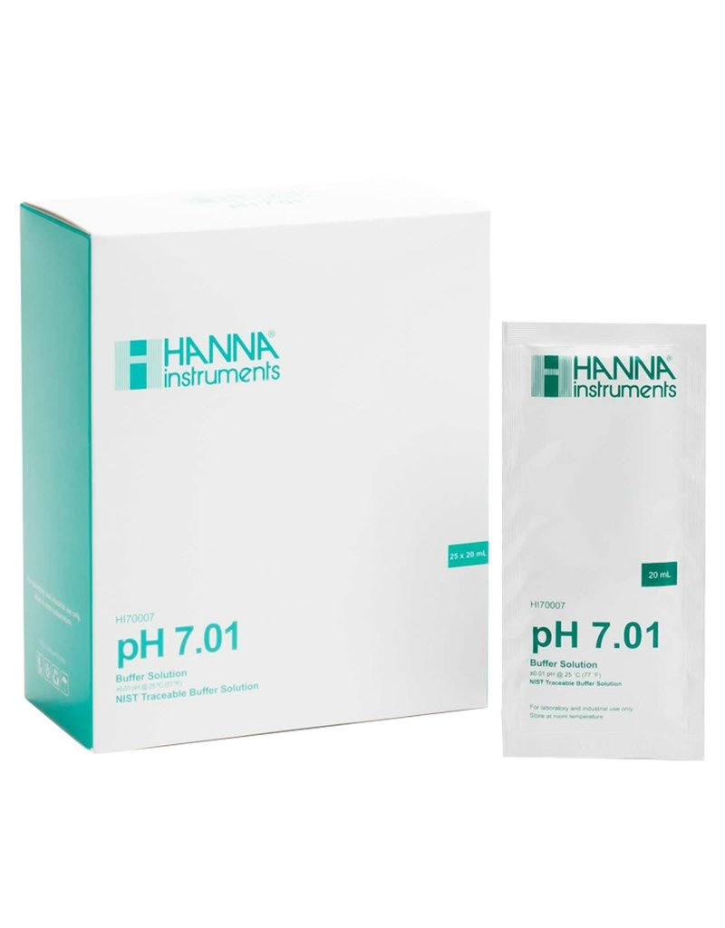 Hanna Hanna HI70007P pH 7.01 Calibration Sachets 20ml - Single