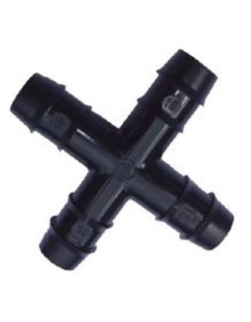 "Autopot Autopot - Cross Fitting 1/2"" - 16mm"