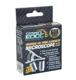 Grower's Edge Grower's Edge Universal Cell Phone Illuminated Micro w/ Clip - 60X